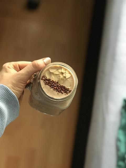 chocolate smoothie, chocolate milkshake