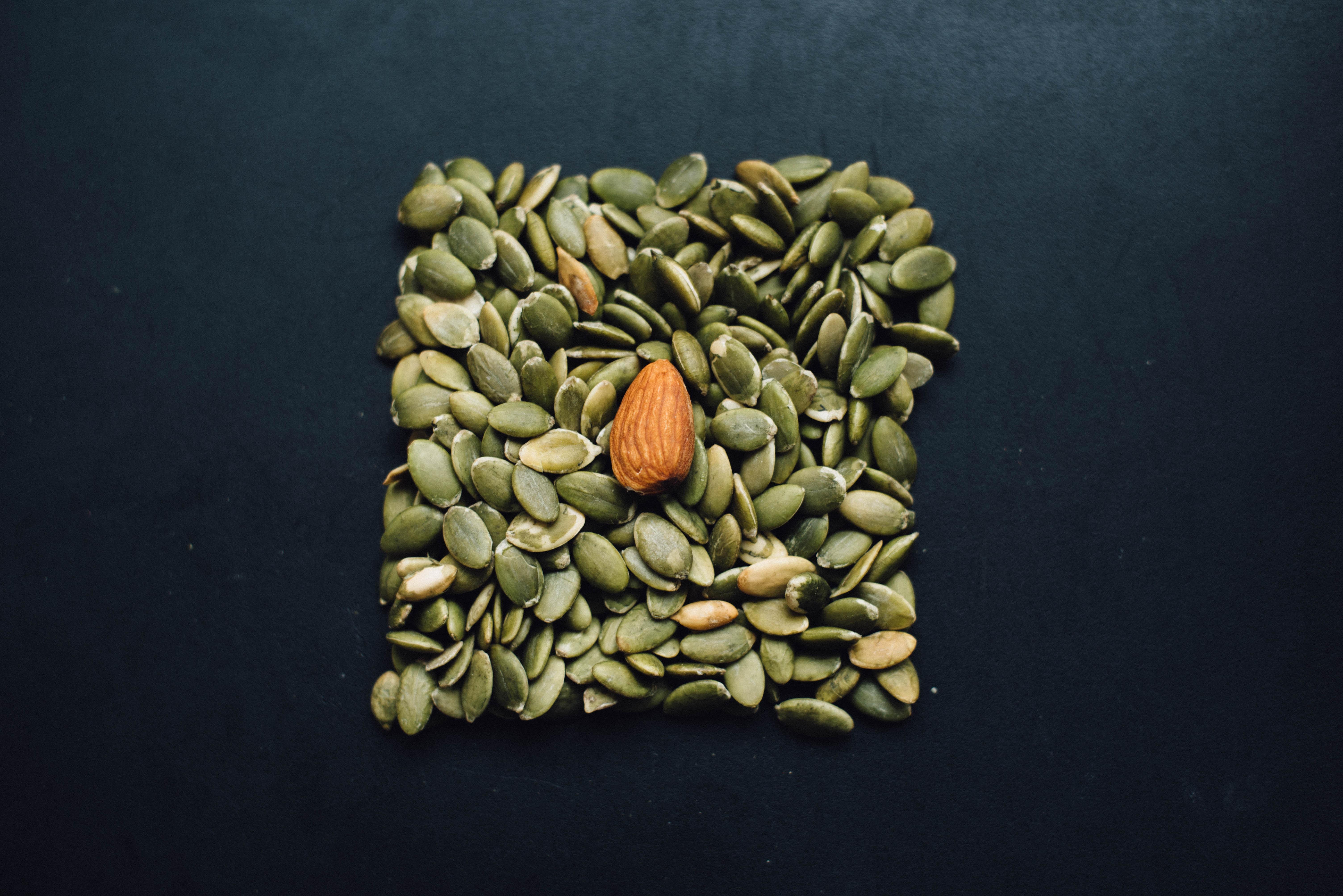Dehulled pumpkin seeds